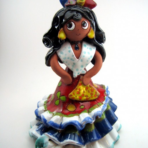 Figura flamenca ceramica 2_p